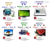 Set 6 reviste Service TV - anul 2011
