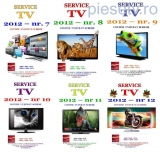 Set 6 reviste Service TV - anul 2012