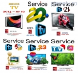Set 6 reviste Service TV - anul 2014