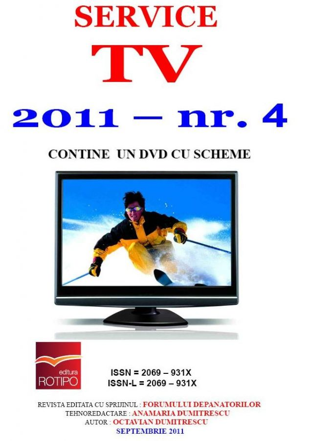 SERVICE TV - Nr 04 - Septembrie 2011